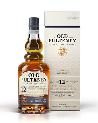 Уиски Old Pulteney 12 год.700 мл.